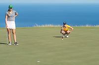 Kailua Kona, HI - October 24, 2016: The Cal Bears compete at the PAC 12 Preview at Nanea Golf Club.