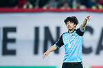 Kawasaki defender Igawa Yusuke gestures during the AFC Champions League 2017 Group G match between Guangzhou Evergrande FC (CHN) vs Kawasaki Frontale (JPN) at the Tianhe Stadium on 14 March 2017 in Guangzhou, China. Photo by Marcio Rodrigo Machado / Power Sport Images