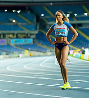 2nd May 2021; Silesian Stadium, Chorzow, Poland; World Athletics Relays 2021. Day 2; Laviai Nielsen of Great Britain after her leg in the women's 4 x 400