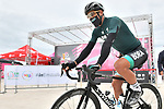Peter Sagan (SVK) Bora-Hansgrohe at sign on before the start of Stage 12 of the 103rd edition of the Giro d'Italia 2020 running 204km from Cesenatico to Cesenatico, Italy. 15th October 2020.  <br /> Picture: LaPresse/Massimo Paolone | Cyclefile<br /> <br /> All photos usage must carry mandatory copyright credit (© Cyclefile | LaPresse/Massimo Paolone)