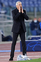 Lucien Favre coach of Borussia Dortmund reacts during the Champions League Group Stage F day 1 football match between SS Lazio and Borussia Dortmund at Olimpic stadium in Rome (Italy), October, 200 Italy, 2020. Photo Andrea Staccioli / Insidefoto