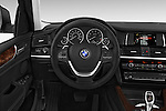 Car pictures of steering wheel view of a 2017 BMW X4 xDrive28i 5 Door SUV Steering Wheel
