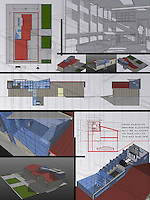 Student entry in FSDA's ADU Competition 2004. Seung Kyun Yu.<br /> Board 2.