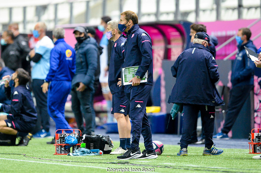 Stade Francais head coach Gonzalo QUESADA during the Top 14 match between Stade Francais and Bayonne at Stade Jean Bouin on October 02, 2020 in Paris, France. (Photo by Sandra Ruhaut/Icon Sport) - Stade Jean Bouin - Paris (France)