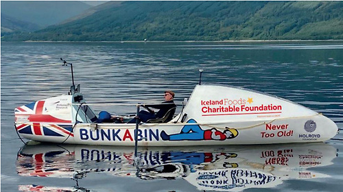 A sistership to the Rannock 25 Solo rowing boat in which Karen Weekes plans to cross the Atlantic