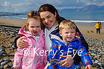 Enjoying their day in Banna on Saturday, l to r: Indie Silles, Aoife Griffin and Issac Silles.