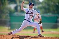 Riley Stanford (27) during the WWBA World Championship at Terry Park on October 8, 2020 in Fort Myers, Florida.  Riley Stanford, a resident of Gainesville, Georgia who attends Buford High School, is committed to Georgia Tech.  (Mike Janes/Four Seam Images)