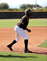 Dwanya Williams-Sutton - San Diego Padres 2020 spring training (Bill Mitchell)