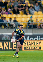 30th April 2021; Wellington, New Zealand;  Highlanders Nehe Milner-Skudder.  Hurricanes versus  Highlanders, Super Rugby, Sky Stadium, Wellington New Zealand, Friday 30 April 2021.