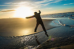 Ainsdale Beach - Winter Sunset