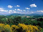 ITA, Italien, Marken, Landschaft bei Urbino | ITA, Italy, Marche, landscape near Urbino
