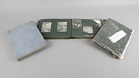 BNPS.co.uk (01202) 558833. <br /> Pic: Fellows/BNPS<br /> <br /> Pictured: Captain Walter Cornock's photo albums. <br /> <br /> A stoic letter from a British World War One officer saying he would rather 'die a man's death than feel I had failed' has come to light 104 years on.<br /> <br /> Captain Walter Cornock, of the 12th Battalion, Gloucestershire Regiment, distinguished himself during the Third Battle of Ypres in 1917 and the 1918 German Spring Offensive.<br /> <br /> The correspondence to his father, also named Walter, reveals how he was driven by an enormous sense of duty and was prepared to sacrifice his life for his country.<br /> <br /> The 25 year old, from Gloucester, said this was preferable to taking 'cowardly advantage' of a situation and surviving, adding that people are 'unnecessarily afraid of death'.