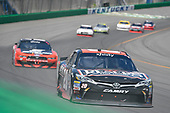 NASCAR XFINITY Series<br /> Alsco 300<br /> Kentucky Speedway, Sparta, KY USA<br /> Saturday 8 July 2017<br /> Erik Jones, Reser's American Classic Toyota Camry, Ryan Blaney, Snap-On Ford Mustang<br /> World Copyright: Logan Whitton<br /> LAT Images