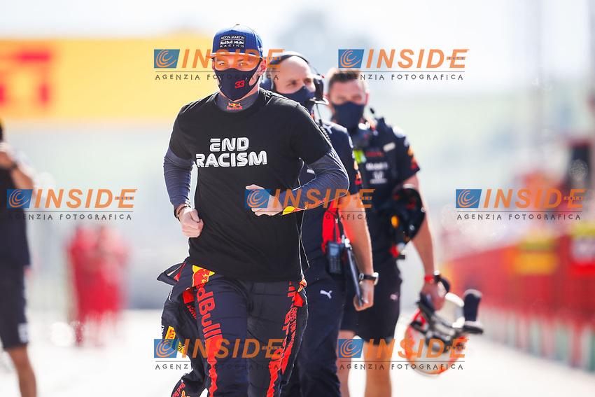 VERSTAPPEN Max (ned), Aston Martin Red Bull Racing Honda RB16, portrait during the Formula 1 Pirelli Gran Premio Della Toscana Ferrari 1000 2020, 2020 Tuscan Grand Prix, from September 11 to 13, 2020 on the Autodromo Internazionale del Mugello, in Scarperia e San Piero, near Florence, Italy -  <br /> Mugello 13-09-2020 Formula 1 Gp Toscana<br /> Photo FLORENT GOODEN/DPPI/Panoramic/Insidefoto <br /> ITALY ONLY