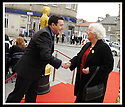 07/04/2009  Copyright Pic: James Stewart.File Name : 06_hippodrome_opening. *** FREE FIRST USE WHEN USED IN ASSOCIATION WITH THE OPENING OF THE BO'NESS HIPPODROME*** COUNCILLOR ADRIAN MAHONEY GREETS THE INVITED GUESTS AS THEY ARRIVE AT THE FIRST NIGHT OFFICIAL RE-OPENING OF THE HIPPODROME IN BO'NESS.....James Stewart Photography 19 Carronlea Drive, Falkirk. FK2 8DN      Vat Reg No. 607 6932 25.Telephone      : +44 (0)1324 570291 .Mobile              : +44 (0)7721 416997.E-mail  :  jim@jspa.co.uk.If you require further information then contact Jim Stewart on any of the numbers above.........