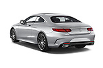 Car pictures of rear three quarter view of 2017 Mercedes Benz S-Class - 2 Door Coupe Angular Rear