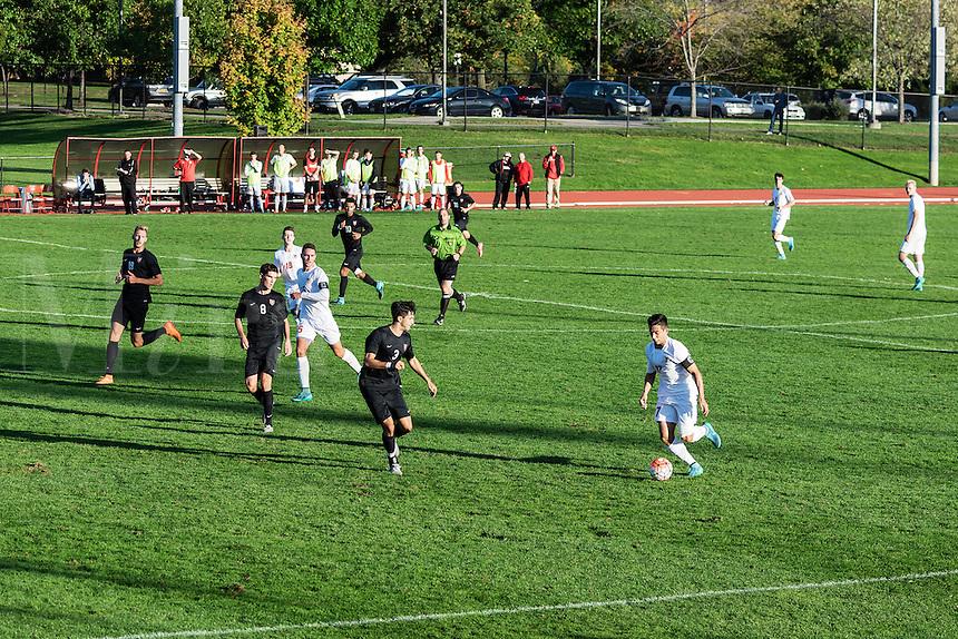 Harvard vs Cornell mens soccer game, Cornell University, Ithaca, New York, USA