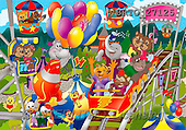 Alfredo, CUTE ANIMALS, puzzle, paintings(BRTO27125,#AC#) illustrations, pinturas, rompe cabeza