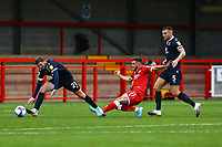 Tyler Frost of Crawley Town scores goal number 4 during Crawley Town vs Morecambe, Sky Bet EFL League 2 Football at Broadfield Stadium on 17th October 2020