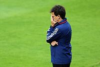 4th October 2020; Couto Pereira Stadium, Curitiba, Parana, Brazil; Brazilian Series A, Coritiba versus Sao Paulo;  Sao Paulo manager Fernando Diniz