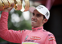 2015 Giro d'Italia winner Alberto Contador (ESP/Tinkoff-Saxo)<br /> <br /> final stage 21: Torino - Milano (178km)