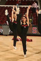 STANFORD, CA - FEBRUARY 14:  Dollies of the Stanford Cardinal during Stanford's 58-41 win against the California Golden Bears on February 14, 2009 at Maples Pavilion in Stanford, California.