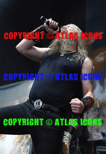 Amon Amarth, live, 2013 ,Ken Settle/atlasicons.com