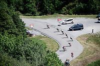 descending towards the finish / 3km to go<br /> <br /> Stage 6: Saint-Vulbas to Saint-Michel-de-Maurienne (228km)<br /> 71st Critérium du Dauphiné 2019 (2.UWT)<br /> <br /> ©kramon