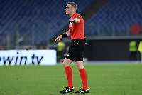 30th September 2021;  Stadio Olimpico, Rome, Italy;Europa League Football, SS Lazio versus Lokomotiv Moscow; Referee Craig Pawson