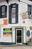 New Orleans, Louisiana.  Elizabeth's Restaurant, Bywater District.