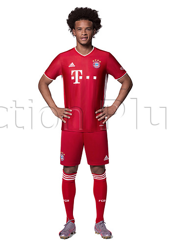 26th October 2020, Munich, Germany; Bayern Munich official seasons portraits for season 2020-21;  Leroy Sane n