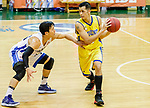 Joe Glen Matthew #13 of Winling Basketball Club dribbles the ball up court against the Eastern Long Lions during the Hong Kong Basketball League game between Eastern Long Lions and Winling at Southorn Stadium on June 01, 2018 in Hong Kong. Photo by Yu Chun Christopher Wong / Power Sport Images