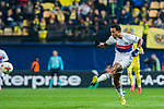 Memphis Depay of Olympique Lyon in action during the UEFA Europa League 2017-18 Round of 32 (2nd leg) match between Villarreal CF and Olympique Lyon at Estadio de la Ceramica on February 22 2018 in Villarreal, Spain. Photo by Maria Jose Segovia Carmona / Power Sport Images
