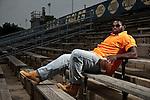 George Washington High School football player Sharrif Floyd on June 17, 2009 in Philadelphia, Pennsylvania.