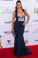 PASADENA, CA, USA - OCTOBER 10: Angelique Cabral arrives at the 2014 NCLR ALMA Awards held at the Pasadena Civic Auditorium on October 10, 2014 in Pasadena, California, United States. (Photo by Celebrity Monitor)