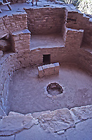 Kiva, Cliff Palace, Mesa Verde National Park