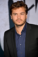 "LOS ANGELES, USA. September 29, 2019: Emile Hirsch at the premiere of ""Joker"" at the TCL Chinese Theatre, Hollywood.<br /> Picture: Paul Smith/Featureflash"
