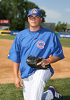 Jake Renshaw of the Peoria Cubs during the Midwest League All-Star game.  Photo by:  Mike Janes/Four Seam Images