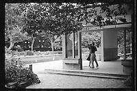 A couple dances at a park in Shanghai, China, August, 2012. (Leica M6, 50mm f2, Kodak TRI-X 400)