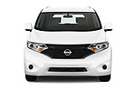 Car photography straight front view of a 2017 Nissan Quest S 5 Door Minivan Front View