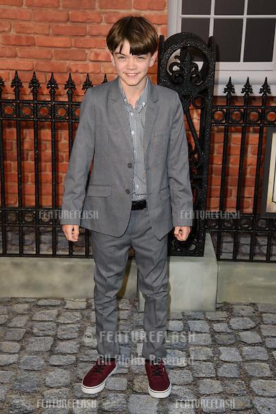 "Milo Parker at the UK premiere of ""Mr Holmes"" at the Odeon Kensington, London<br /> June 10, 2015  London, UK<br /> Picture: Steve Vas / Featureflash"