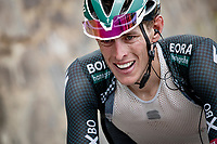 Nils Politt (DEU/BORA - hansgrohe) in the final kilometers up the final climb of the day; the Col du Portet (HC/2215m)<br /> <br /> Stage 17 from Muret to Saint-Lary-Soulan (Col du Portet)(178km)<br /> 108th Tour de France 2021 (2.UWT)<br /> <br /> ©kramon