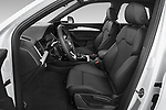 Front seat view of 2021 Audi Q5-Sportback S-Line 5 Door SUV Front Seat  car photos