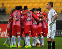 170218 A-League Football - Wellington Phoenix v Melbourne City