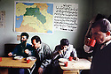 Irak 1992   Repas des professeurs dans une école d'Halabja   Iraq 1992  Halabja: Meal for teachers in a school