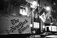 - New York, headquarters of the daily newspaper New York Times<br /> <br /> - New York, sede del quotidiano New York Times