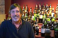 the restaurant bar owner bottles of port wine la maison des portos porto portugal