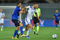 Federico Chiesa of Italy and Edin Dzeko of Bosnia during the Uefa Nation League Group Stage A1 football match between Italy and Bosnia at Artemio Franchi Stadium in Firenze (Italy), September, 4, 2020. Photo Massimo Insabato / Insidefoto