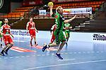 44Kevin Gulliksen beim Spiel in der Handball Bundesliga, TSV GWD Minden - HSG Nordhorn-Lingen.<br /> <br /> Foto © PIX-Sportfotos *** Foto ist honorarpflichtig! *** Auf Anfrage in hoeherer Qualitaet/Aufloesung. Belegexemplar erbeten. Veroeffentlichung ausschliesslich fuer journalistisch-publizistische Zwecke. For editorial use only.