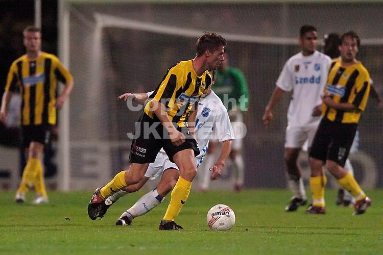 veendam - agovv jupiler league seizoen 2007-2008 21-09-2007  boersma zoekt de ruimte